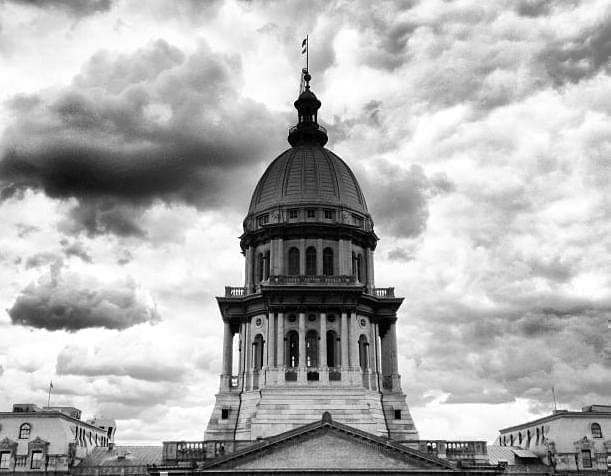 State capitol in Springfield.