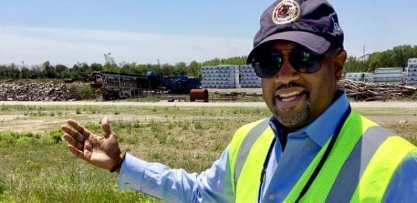 Clayton Harris III, the executive director of the Illinois International Port District, wants to expand an industrial site near Lake Calumet, a move that could create jobs. But some community groups want a long-promised public park.