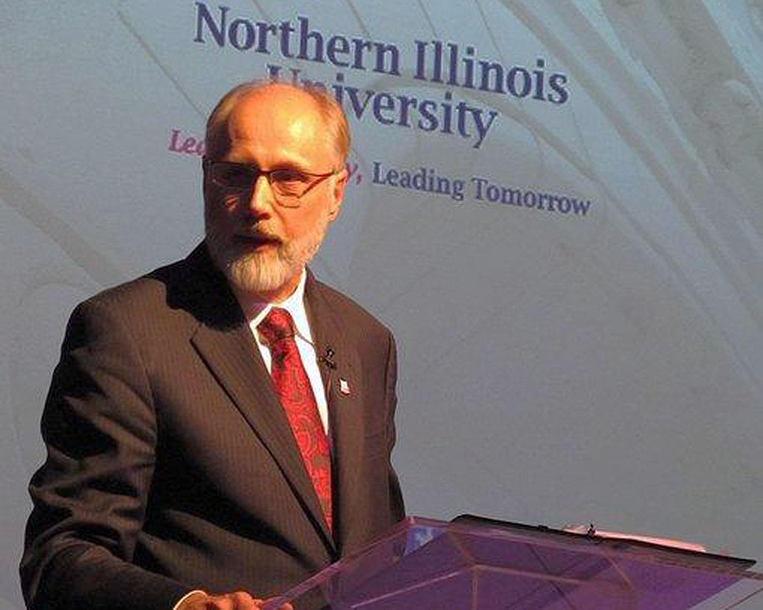 Northern Illinois University President Doug Baker