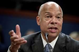 Former Homeland Security Secretary Jeh Johnson