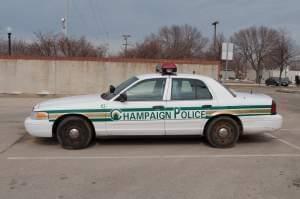 A Champaign police car.