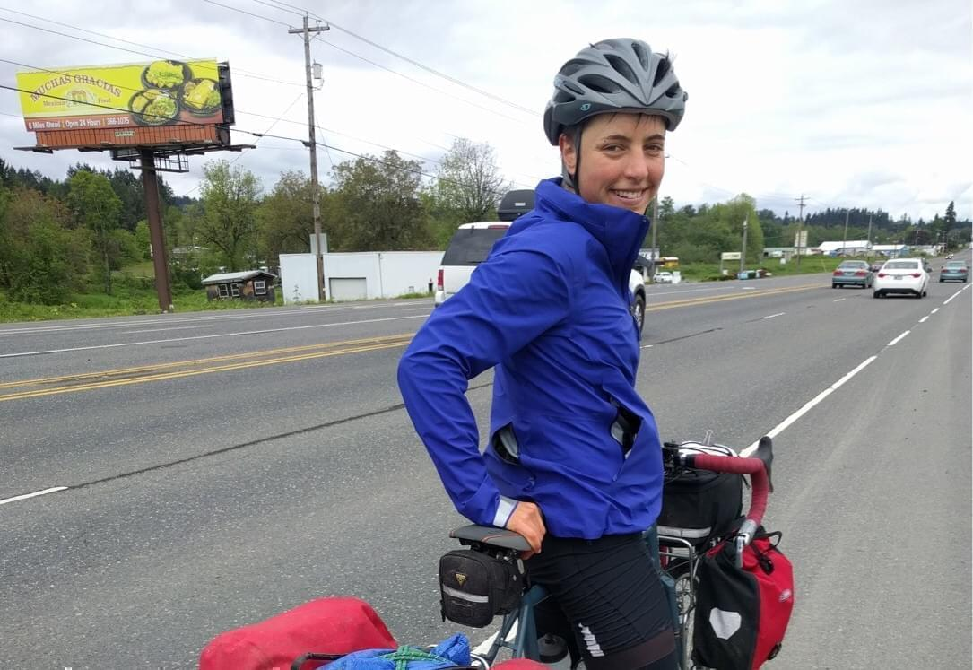 "Kerry Gross is riding coast-to-coast on a bike, finding America's most inspirational women and sharing their stories on her podcast, ""Women Who Dare."""