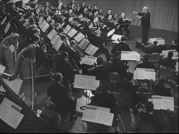 """undefined More details Arturo Toscanini with NBC Symphony Orchestra from """"Hymn of the Nations"""". And playing the """"La forza del destino"""" Overture"""