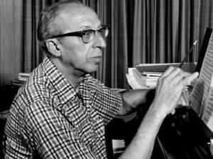 Aaron Copland in 1962 from a television special