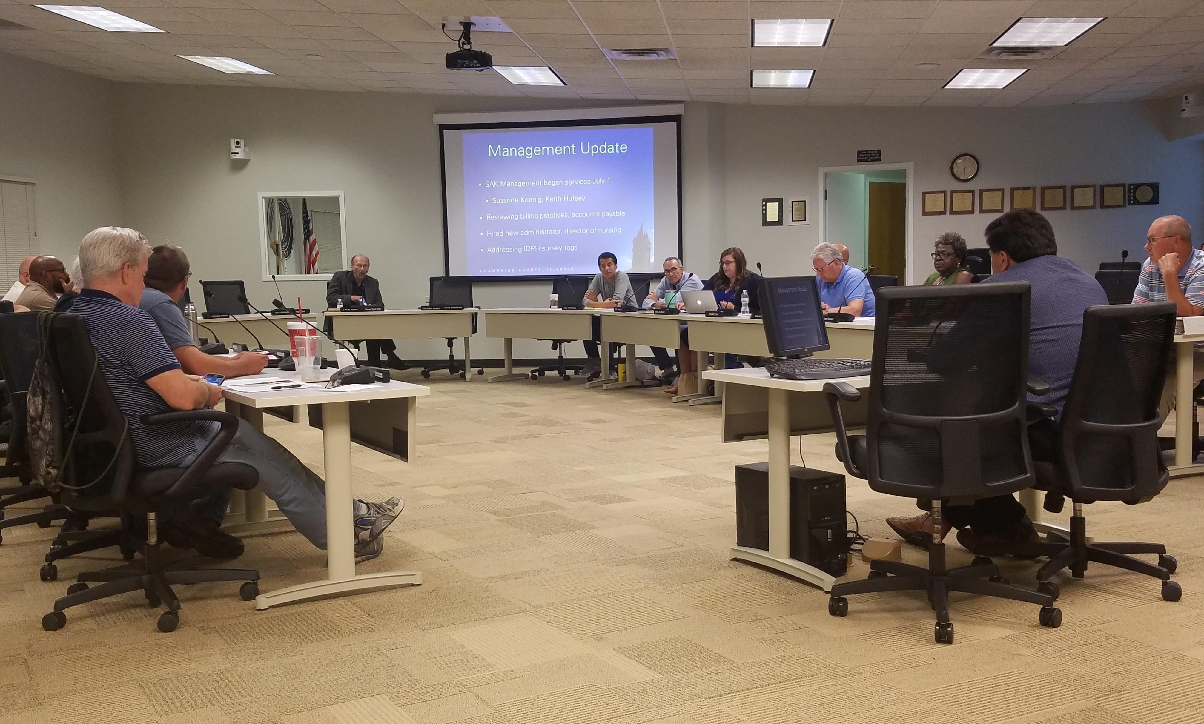 The Champaign County Board