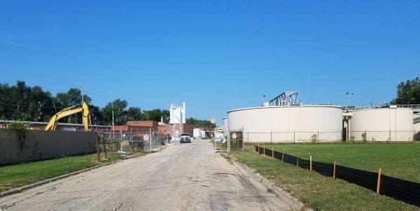 The Illinois American Water plant in Urbana.