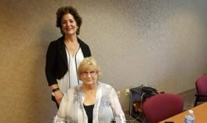 SAK founder & CEO Suzanne Koenig  and COO Joyce Ciyou..