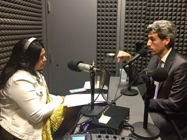 Democratic State Sen. Daniel Biss talks with Niala Boodhoo about how his family survived the Holocaust - and why the rise of white supremacists is compelling him to share his family's story.
