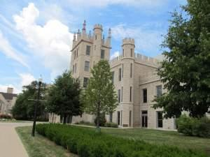 The campus of Northern Illinois University in DeKalb.