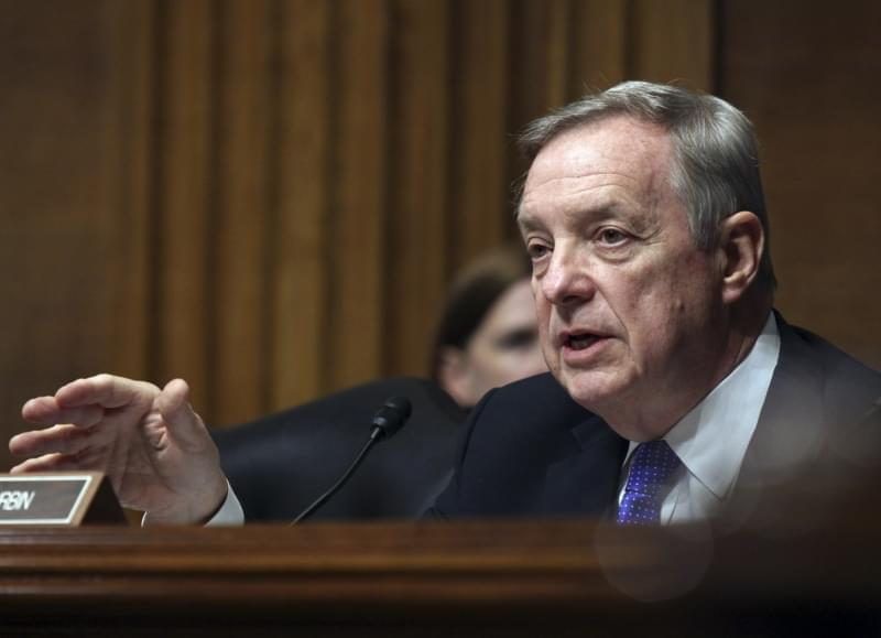 Illinois Democratic Senator Dick Durbin