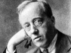 Gustav Holst, c.1921 (photograph by Herbert Lambert)
