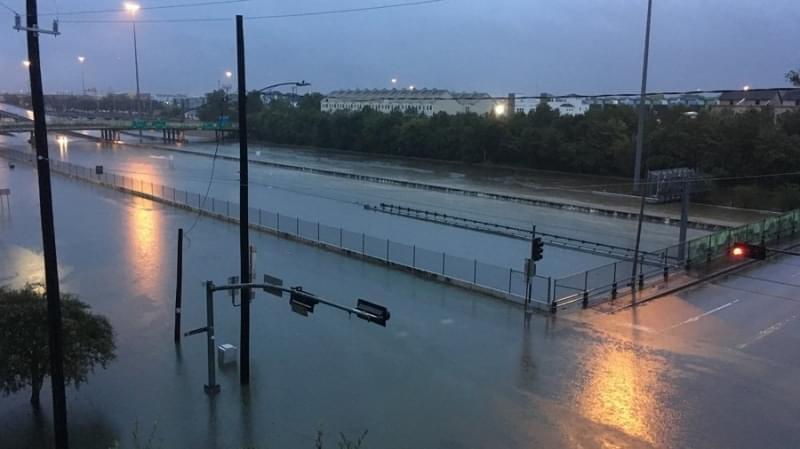 Hurricane Harvey floods Houston, TX