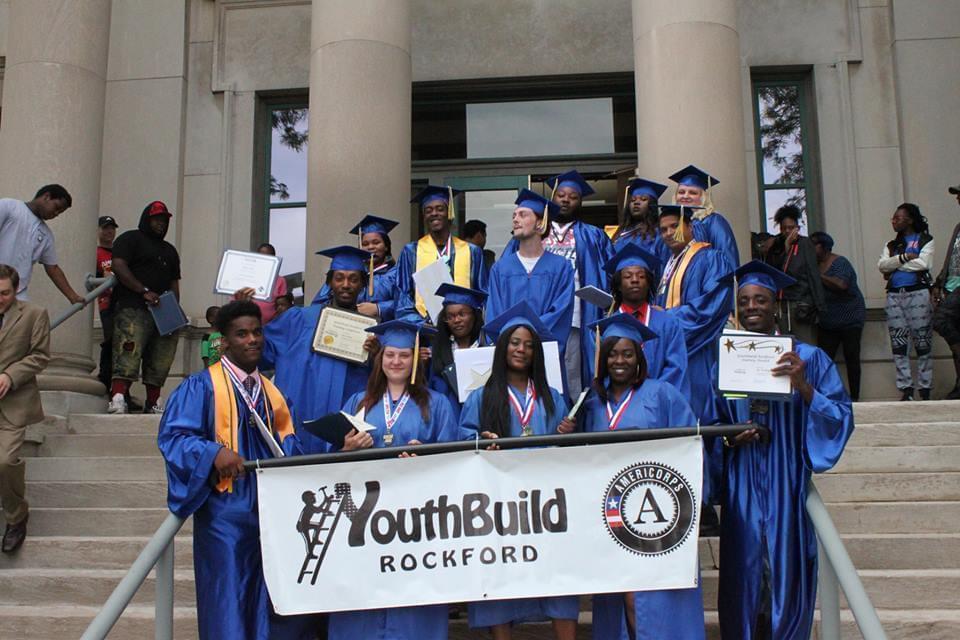 YouthBuild Rockford 2017 graduates