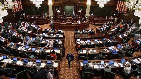 Illinois General Assembly chambers