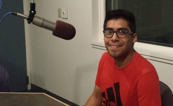 NIU Student Yosue Perez.