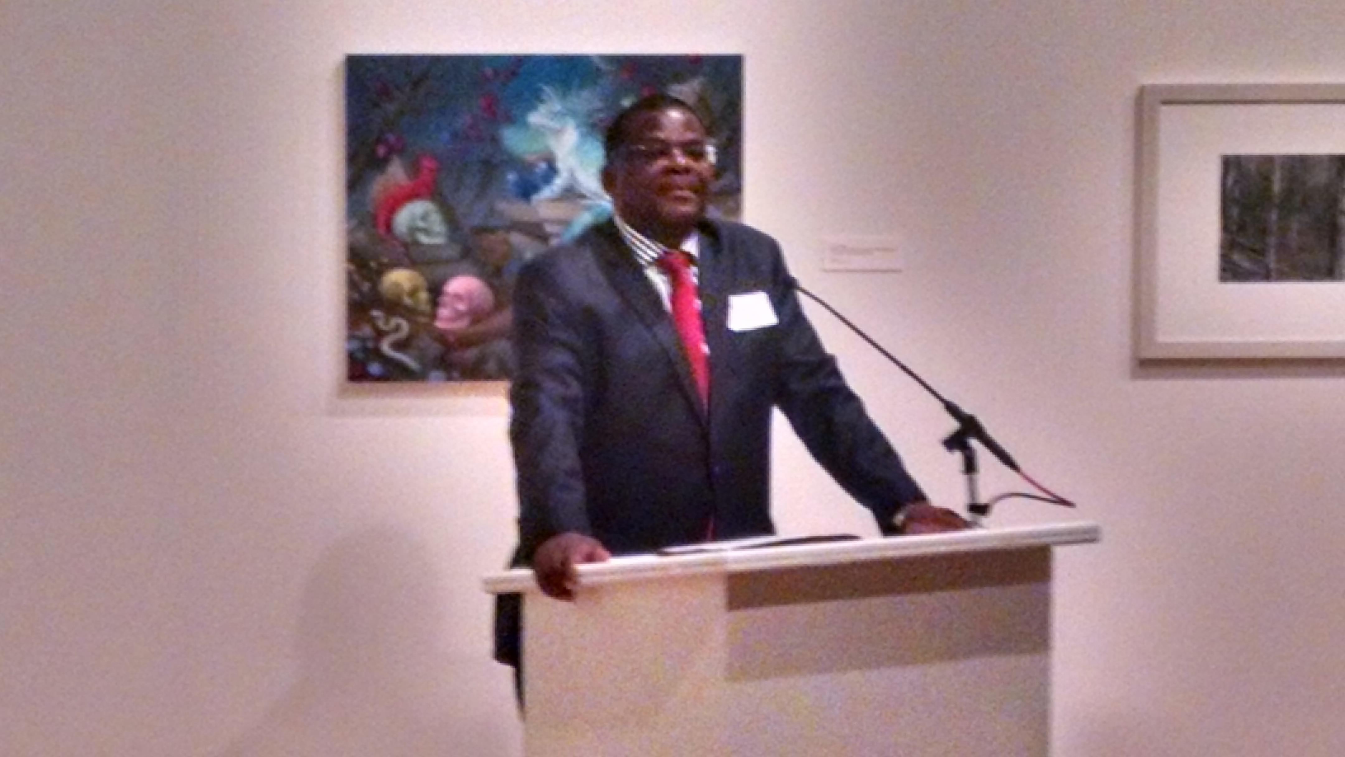 Kenyan Ambassador to the United States, Robinson Githae