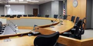 Champaign City Council chambers