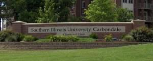 An entrance to SIU-Carbondale.