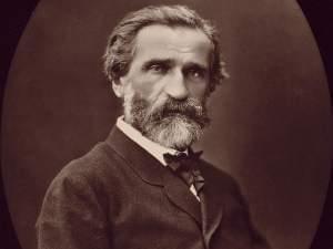Picture of Giuseppe Verdi.