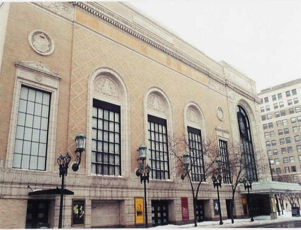 Powell Symphony Hall, located in St. Louis, Missouri, USA. Opened 1925, rebuilt 1968.