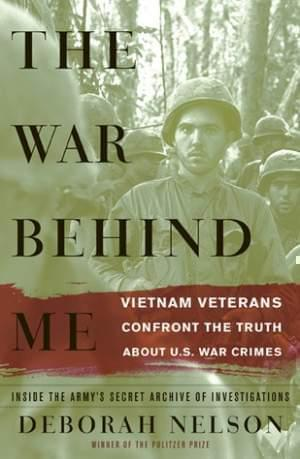 Book cover of the War Behind Me