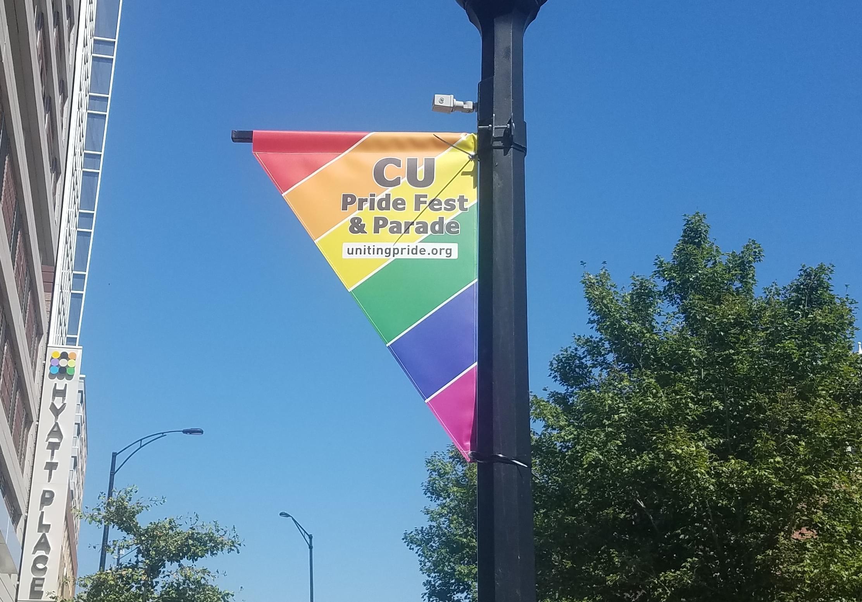 Banner for C-U Pride Fest.