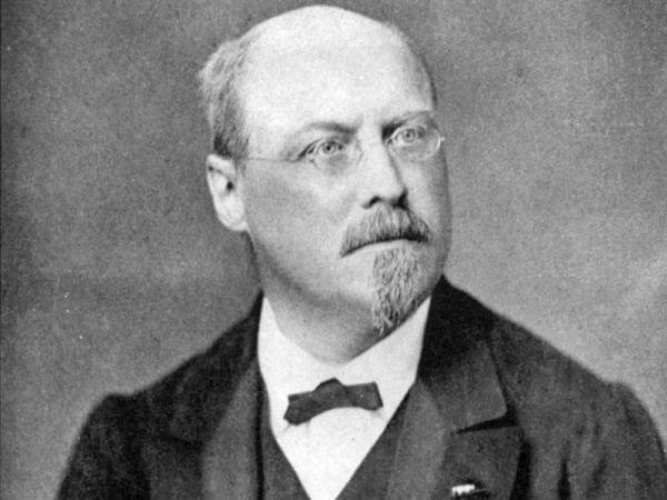portrait of Raff, 1878