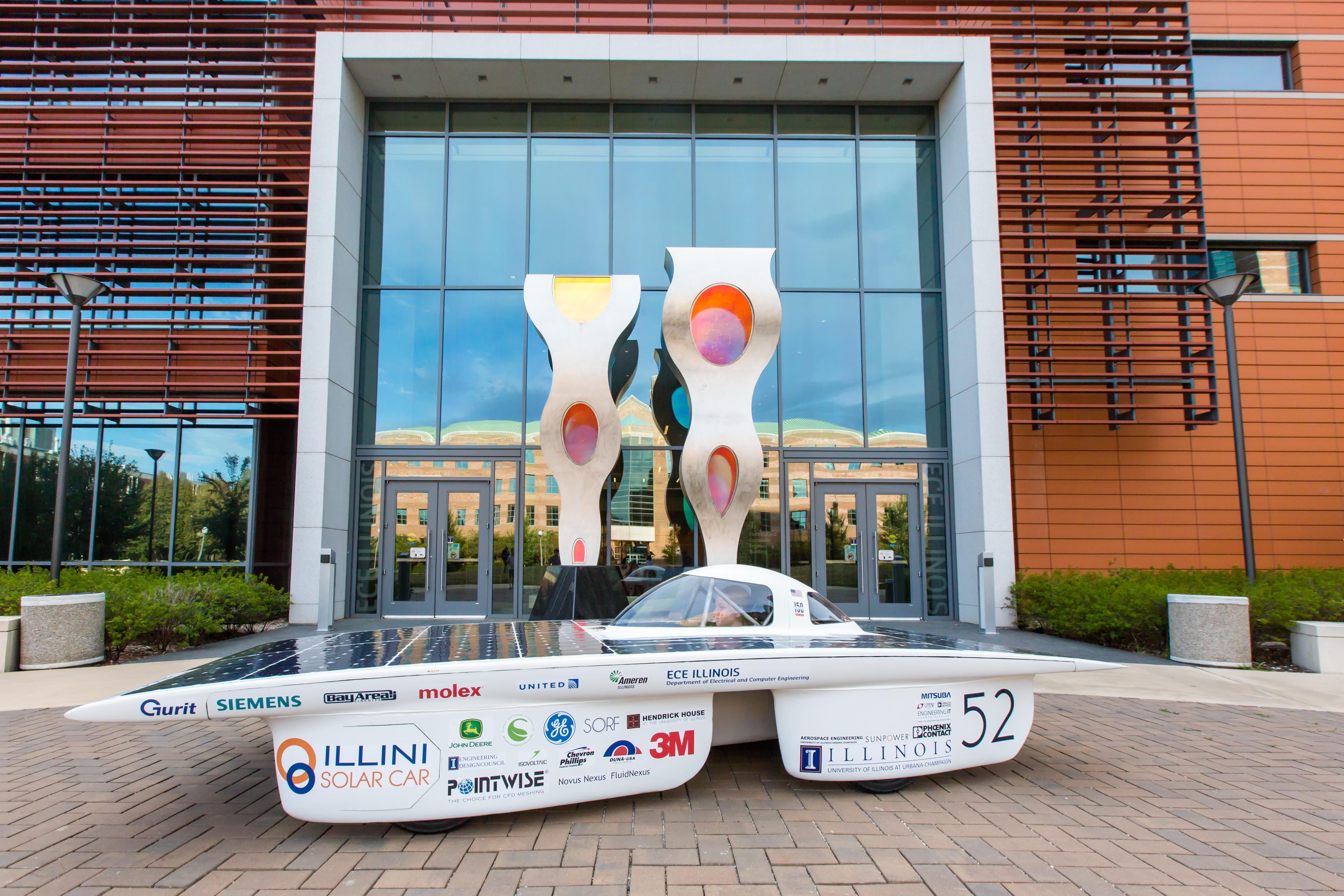 Argo, the solar-powered car.