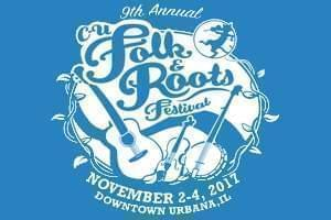 Folk & Roots Festival, November 2nd to 4th, 2017