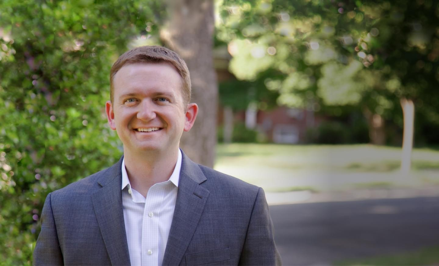 Erik Jones, one of four people running for congress in the 13th congressional district