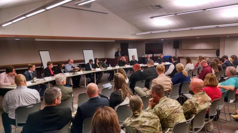 Governor Rauner's Opioid Task Force meets in Urbana.