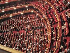 Metropolitan Opera (Lincoln Center), auditorium seen from Family Circle