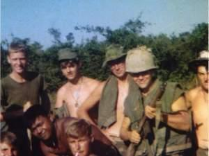 A group of soldiers in Vietnam