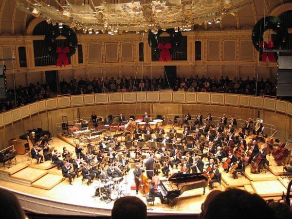 Chicago Symphony Orchestra performs at Symphony Center.