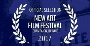 The New Art Film Festival logo.