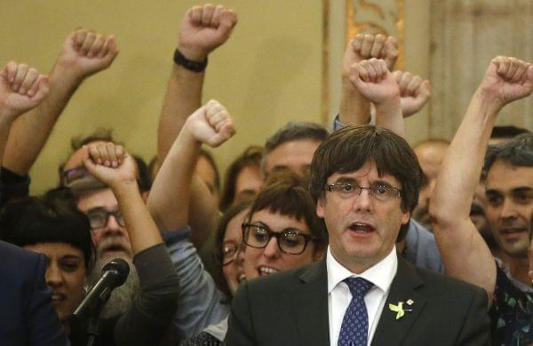 Catalan President Carles Puigemont.