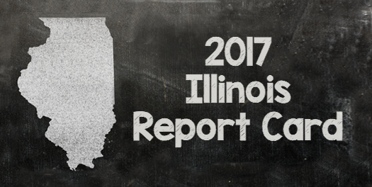 Illinois Report Card logo.