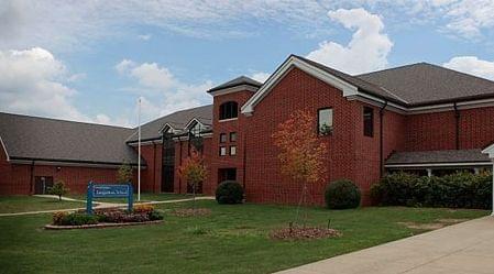 Sangamon Elementary School in Mahomet, Illinois.