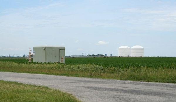 Manlove natural gas storage field.