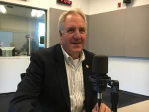 John Shimkus at the studios of St. Louis Public Radio.