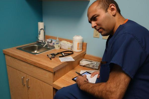 Dr. Jay Joshi's patients use telemedicine to compliment patients' opioid addiction treatment.