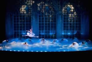 A scene from The Nutcracker.