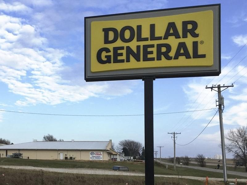 The Dollar General in Moville, Iowa