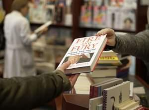 Customer buying book Fire and Fury