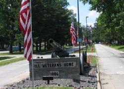 Illinois Veterans Home in Quincy.