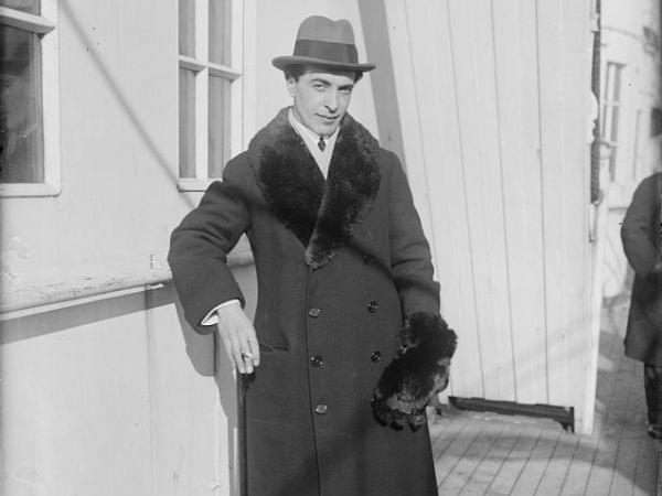 Benno Moiseiwitsch in 1920