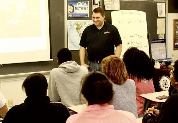 Neil Calderon teaches U.S. history, government, and world history at Springfield Southeast High School.