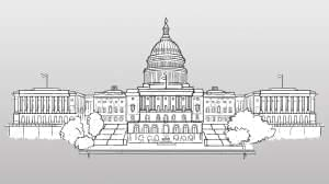 Illustration of the US Capitol.