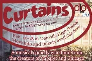 Curtains at the Dick Van Dyke Auditorium