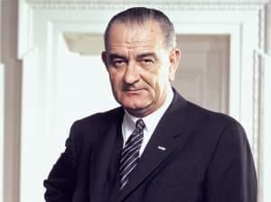 President Lyndon B. Johnson Photo. Photo by Arnold Newman.